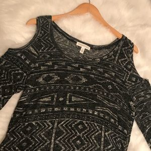 Tribal patterned sweater